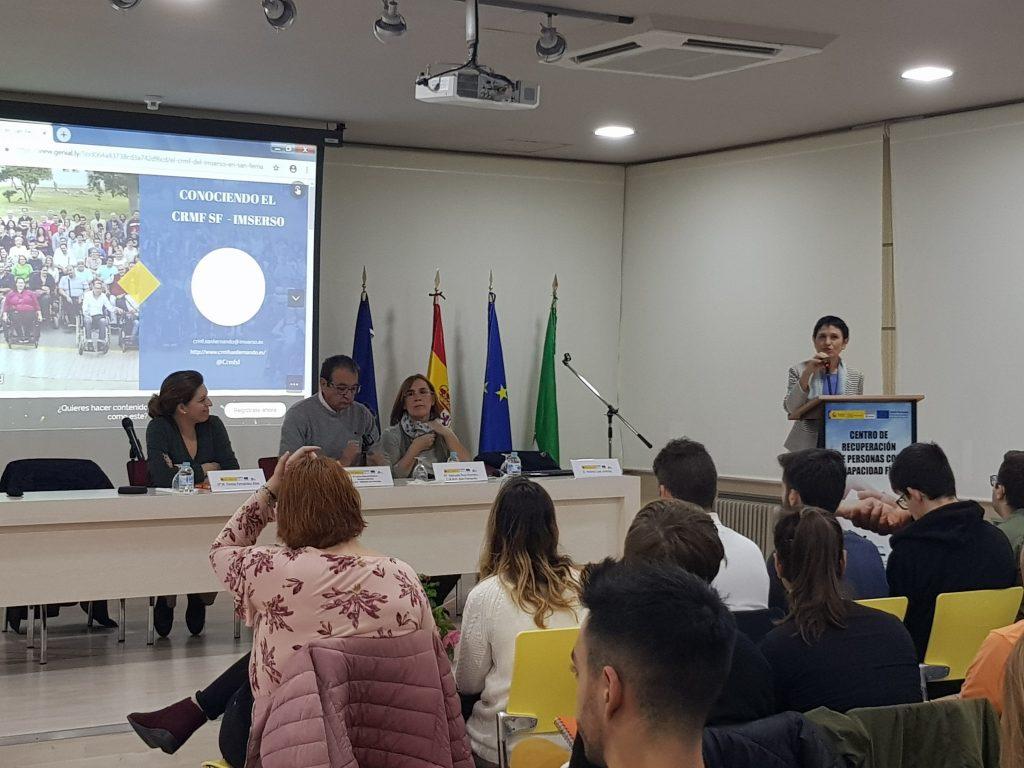 IMG Alumnos de ADE participan en una Jornada sobre Marketing Social y Discapacidad